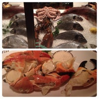 Photo taken at Lobster Bar Sea Grille by Rev. L. on 10/30/2013
