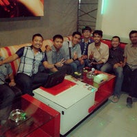Photo taken at NAV Karaoke keluarga by Muhammad R. on 2/10/2015