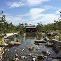 Photo taken at 帰真園旧清水邸書院 by Shinya K. on 4/28/2014