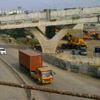 Photo taken at Tanjung Priok Access Road Project - E2 project office by Iwan H. on 5/20/2014