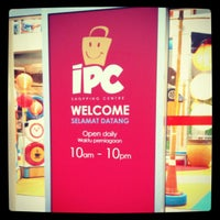 Photo taken at IPC Shopping Centre by Romster R. on 2/17/2013