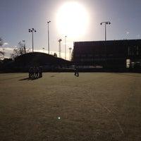 Photo taken at La Gantoise Hockey by Nicolas M. on 11/3/2012