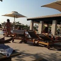 Photo taken at Romanos Costa Navarino Pool by Constantine on 8/17/2013
