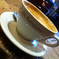 Photo taken at Caffè Artigiano by Fernando F. on 10/6/2012