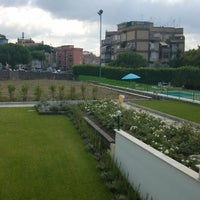 Photo taken at Hotel Poggioverde Roma by Garry M. on 7/27/2014