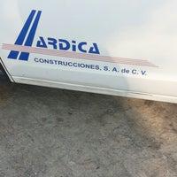 Photo taken at Ardica Construcciones by José O. on 11/14/2012