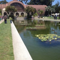 Photo taken at Botanical Building & Lily Pond by Lawrence B. on 6/15/2013