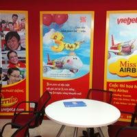 Photo taken at VietJet Air by Vesi on 2/19/2014