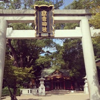 Photo taken at 富松神社 by marekoromo on 8/20/2013