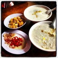 Photo taken at Ah Chiang's Porridge by Daniel J. on 10/10/2012