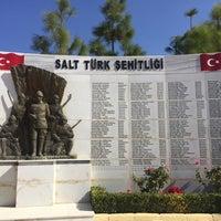 Photo taken at Salt Türk Şehitliği by Yasemin P. on 11/10/2017
