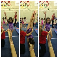 Photo taken at Jean's Gymnastics by Timothy D. on 12/18/2012