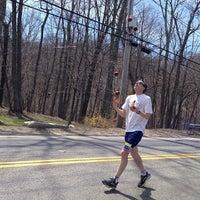 Photo taken at Boston Marathon Start Line by Timothy D. on 4/21/2014