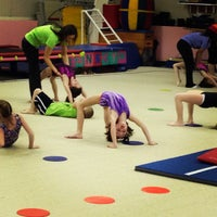 Photo taken at Jean's Gymnastics by Timothy D. on 1/22/2013