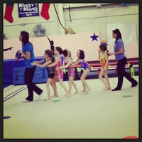 Photo taken at Jean's Gymnastics by Timothy D. on 2/12/2013