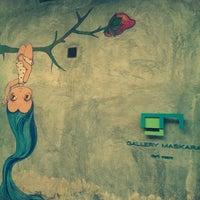 Photo taken at Gallery Maskara by Khushboo C. on 10/12/2013