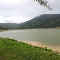 Photo taken at BangWard Dam by อั้มอึ้ง ก. on 6/15/2013