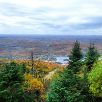 Photo taken at Sommet du Mont-Tremblant Summit by Johanne B. on 10/2/2012