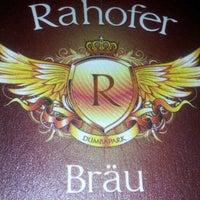 Das Foto wurde bei Rahofer Bräu von Dieter R. am 5/10/2013 aufgenommen