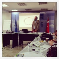 Photo taken at UNDP Istanbul Center For Private Sector In Development by müslüm y. on 11/8/2013