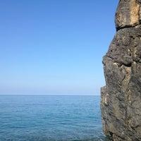 Photo taken at Spiaggia da Peppe by Serena M. on 9/12/2013