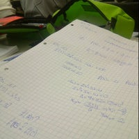 Photo taken at Liceo Scientifico Marconi by Rebecca B. on 10/13/2012