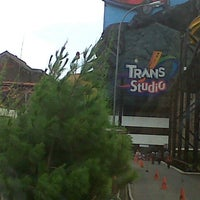 Photo taken at Trans Studio Bandung by Lezy M. on 1/4/2013