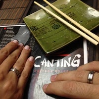 Photo taken at Sushi Canting by Alan C. on 1/14/2013