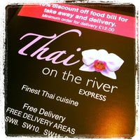 Photo taken at Thai on the River by Mart Gil on 9/16/2012