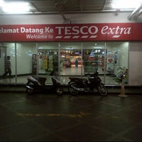 Photo taken at Tesco Extra by azihanyusoff on 9/14/2012
