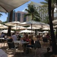 Photo taken at Loews Miami Beach Pool by Carlos M. on 10/11/2012