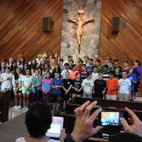 Photo taken at St Joseph's Church by James D. on 6/26/2014