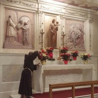 Photo taken at Franciscan Monastery of the Holy Land in America by MisterEastlake on 12/24/2014