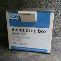 King County Administration Building Ballot Drop Box