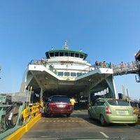 Photo taken at Bainbridge Island/Seattle Ferry by MisterEastlake on 7/28/2018