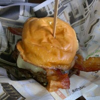 Photo taken at Wahlburgers by Rob G. on 1/5/2013