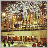 4/3/2013にYana Y.がThe Rink at Rockefeller Centerで撮った写真