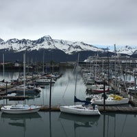 Photo taken at Holiday Inn Express Seward Harbor - Closed by Ross S. on 5/30/2016