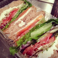 Photo taken at Sam's Bagels by Brian S. on 12/16/2012