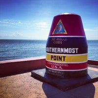 Photo taken at Southernmost Point Buoy by Brian S. on 11/3/2012