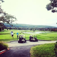 Photo taken at Hayfields Country Club by Brian S. on 9/28/2012