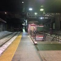 Photo taken at MBTA Porter Square Station by Karolina S. on 3/5/2015