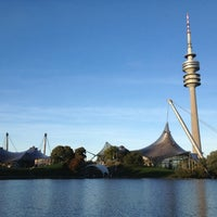 Photo taken at Olympiapark by Lilia K. on 10/5/2012