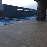 Photo taken at Pullman Swimming Pool Saigon by Toby S. on 2/13/2016