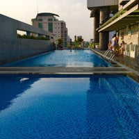 Photo taken at Pullman Swimming Pool Saigon by Toby S. on 2/17/2016