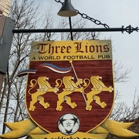 Photo taken at The Three Lions: A World Football Pub by Jeff H. on 11/3/2012