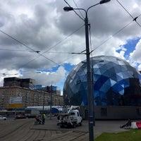 Photo taken at Трамвайная остановка «Метро «Сокол» by VitalikEnergy ⚡. on 6/23/2017