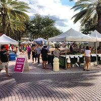 Photo taken at West Palm Beach Green Market by Jeremy O. on 10/12/2013