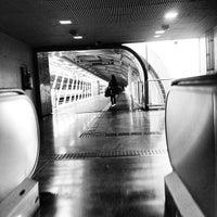 Photo taken at Estação Santo Amaro (Metrô) by Misael H. on 10/13/2012
