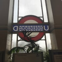 Photo taken at East Finchley London Underground Station by Paul F. on 5/1/2017